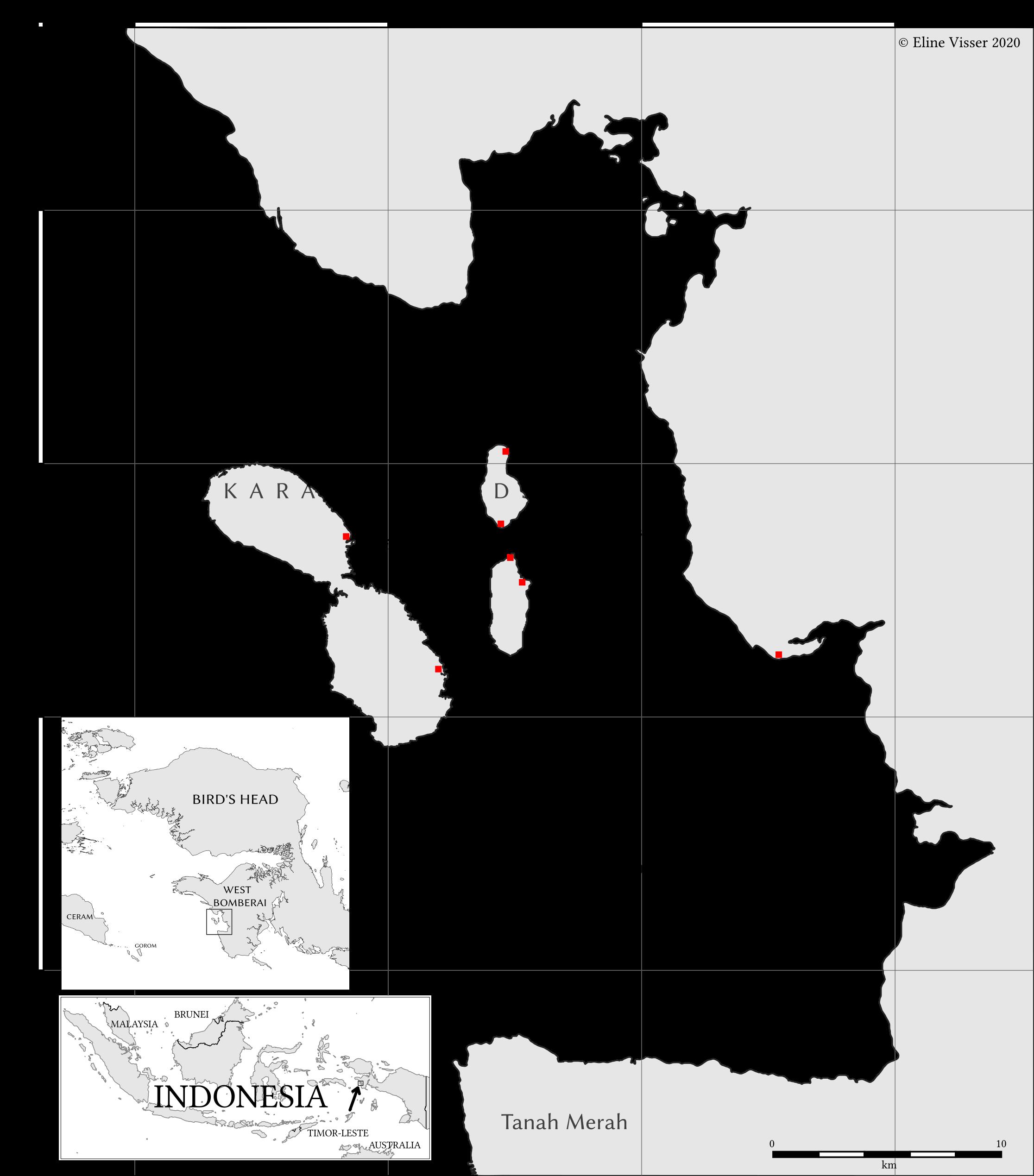The Karas Islands