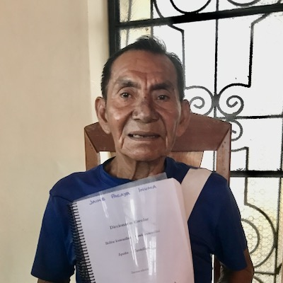 Jaime Pacaya Inuma in 2019